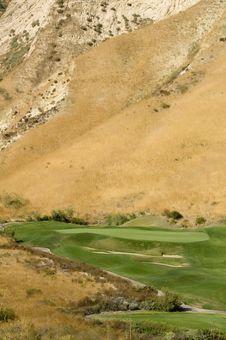 Desert Golf Stock Images