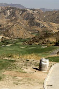 Free Desert Golf Royalty Free Stock Photo - 7822445