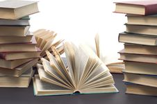 Free Opened Books Stock Images - 7822834