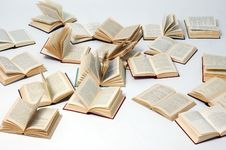 Free Opened Books Stock Images - 7822914