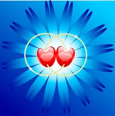 Free Two Hearts Royalty Free Stock Image - 7822996