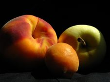 Fruits In The Sun-rays Royalty Free Stock Photography