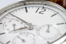 Wrist Watch 12 Copyspace Stock Photography