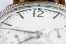 Wrist Watch 12 Copyspace Royalty Free Stock Photo