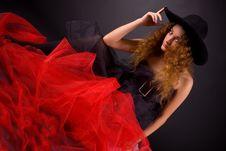 Free Beautiful Girl In Hat Stock Image - 7823351