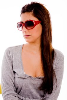 Free Portrait Of Young Woman Wearing Sunglasses Royalty Free Stock Images - 7823469