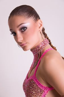 Free Portrait Of Dancer Girl Stock Photography - 7823552