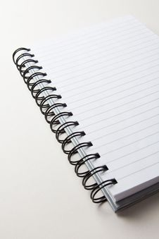 Free Lined And Ring Bound Notepad Stock Photos - 7823933
