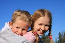 Free Piggy Back Ride 6 Stock Photos - 7824043