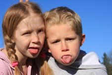 Free Funny Faces 3 Royalty Free Stock Photography - 7824087