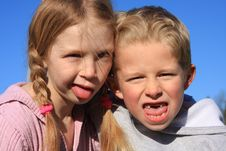 Free Funny Faces Royalty Free Stock Image - 7824096