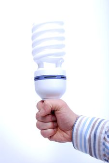 Free Hand With Bulb Stock Image - 7824491