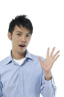 Free Asian Man Stock Photo - 7824590