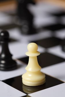 Free Chess White Pawn Stock Image - 7825321