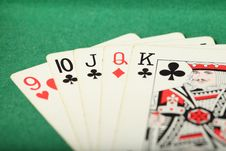 Free Cards Laydown Straight Stock Photography - 7825532