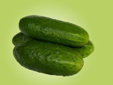 Free Vegetables Cucumbers Royalty Free Stock Photo - 7826155