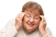 Free Senior Woman With Aching Head Royalty Free Stock Image - 7826426