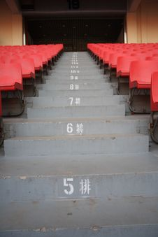 Free Stadium Steps Royalty Free Stock Photos - 7827038