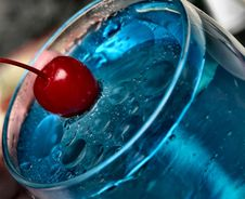 Free Red Cherry Splash Stock Images - 7827114