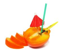 Free Few Tasty Pieces Persimmon Royalty Free Stock Image - 7827706