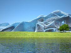 Free 3d Landscape Stock Photo - 7828070