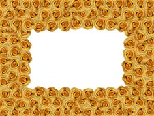 Free Yellow Roses Photoframe Stock Image - 7828141