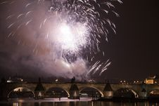 Free Festive New Year 2008 Fireworks Stock Photos - 7828483