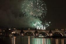 Free Festive New Year 2008 Fireworks Royalty Free Stock Photos - 7828538