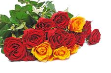 Free Big Nice Bouquet Roses Stock Photos - 7828653