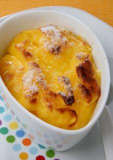 Free Baked Egg Cream With Sugar Dessert Stock Photo - 7828860