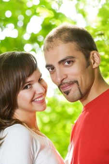 Free Young Couple In Love Royalty Free Stock Photos - 7828938