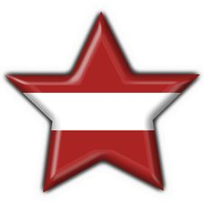 Free Latvia Button Flag Star Shape Royalty Free Stock Photo - 7829045
