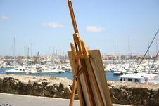 Free Easel Royalty Free Stock Photo - 7829115