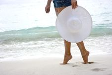 Free On The Beach Royalty Free Stock Photo - 7829565