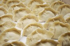 Chinese Dumpling (JiaoZi) For New Year Royalty Free Stock Images