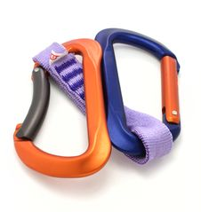 Free Carabiner And Express Isolated Royalty Free Stock Images - 7829999