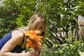 Free Beautiful Girl Enjoying The Sunny Weather Royalty Free Stock Photography - 7834917