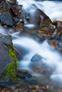 Free Water Flowing Over Rocks Stock Photos - 7838403