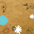 Free Rough Floral Paper Royalty Free Stock Image - 7839416