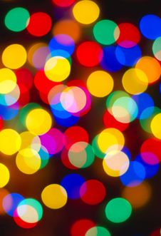 Free Abstract Bokeh Background Stock Photography - 7830012