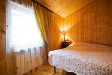 Free Wooden Bedroom Royalty Free Stock Photography - 7830557