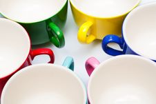 Free Color Cups Royalty Free Stock Photos - 7830598