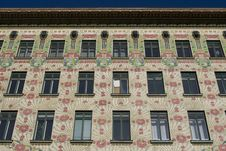 Free Viennese Architecture Art Nouveau, Otto Wagner Royalty Free Stock Photos - 7830998