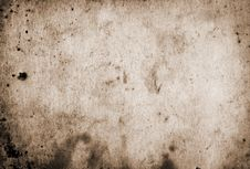 Free Old Paper Grunge Background Stock Image - 7831001