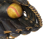 Free Mitt And Baseball Royalty Free Stock Photography - 7831007