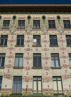 Free Viennese Architecture Art Nouveau, Otto Wagner Stock Photo - 7831020