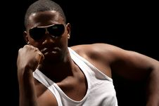 Free Young African American Male Stock Photo - 7831340