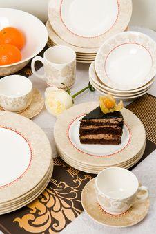 Free Still-life With Cake Royalty Free Stock Photos - 7831378