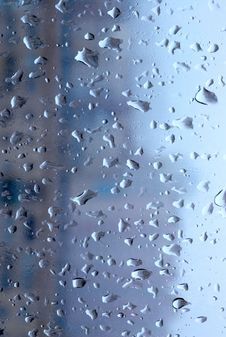 Free Raindrops On The Glass Stock Images - 7831824