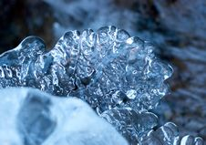 Free Icy River Stock Photography - 7831852